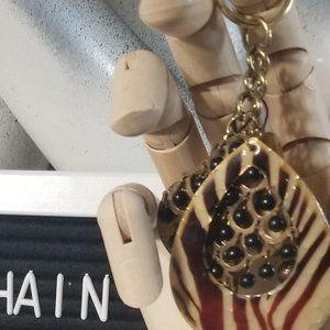 Key Chain Fob Boho Artisan Purse Bookbag OOAK